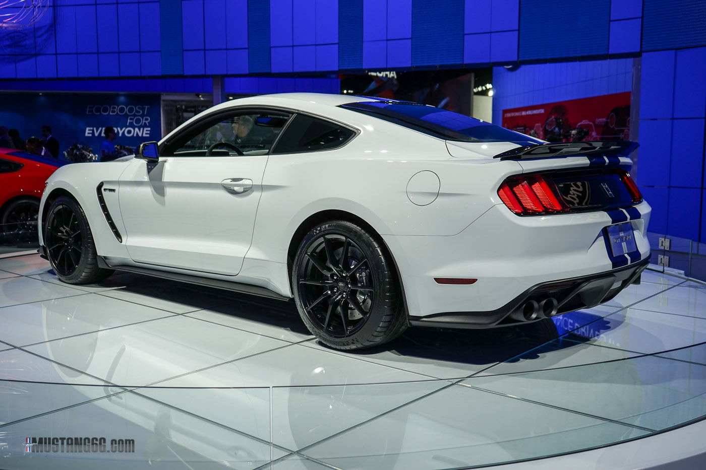 All Types mustang gt350 2016 : More GT350 Mustang Prototypes Spotted — What's with the Rear Wing ...