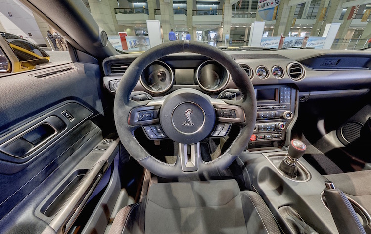 Gt350 Mustang Interior And Exterior Virtual Tour 2015