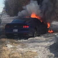 2015 Mustang GT Catches Fire