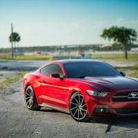 2015 Mustang Vossen Wheels