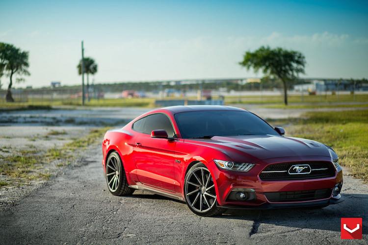 Video 2015 Mustang Vossen Wheels 2015 Mustang Forum