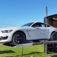 GT350 Mustang Avalanche Gray
