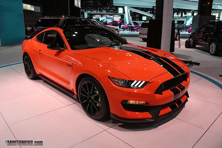 Competition Orange Shelby Gt350 Mustang Imagined 2015