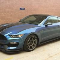 Liquid Blue GT350R Mustang