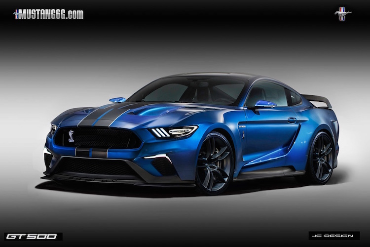 2018 GT500 Mustang Render | 2015+ Mustang Forum News Blog ...