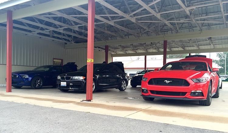 2015 Mustang HPDE Blackhawk Farms Raceway