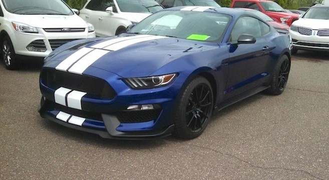 First 2015 Shelby Gt350 Reaches Produced Status 2015