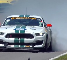 GT350R-C Mustang Lime Rock Victory