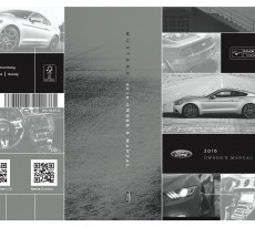 2016 Mustang Owner's Manual