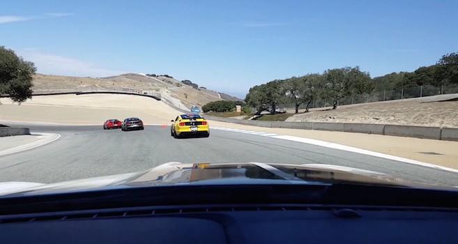 Shelby Gt Laguna Seca Track Time