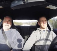 Sharing the 2015 Mustang with an old friend