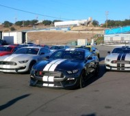 Shelby GT350 Media Drives Laguna Seca