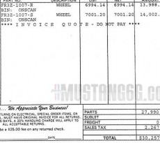 Shelby GT350R Carbon Fiber Wheels Pricing