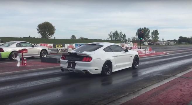 2015 Mustang 9 second pass