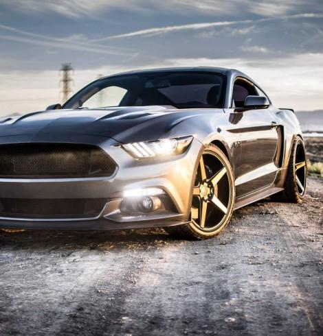 MOTM 2015 Mustang Grey Hulk