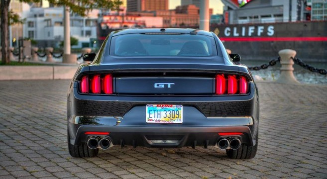 Corsa Performance Quad Tips For 2015 16 Mustang Gt 2015