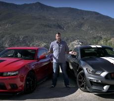 Shelby GT350 versus Camaro Z:28 MotorTrend