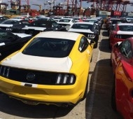 RHD S550 Mustangs Australia