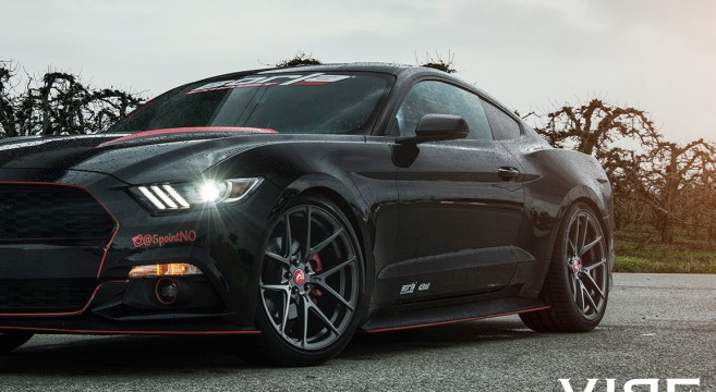 Vorsteiner Wheels For The S550 Mustang