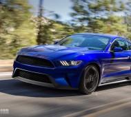 2018 Mustang Render
