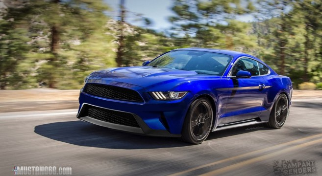 2018 Mustang Rendered 2017 Forum News Blog S550 Gt Gt350 Gt500 I4 V6 Mustang6g The Ultimate 6th Generation Enthusiast