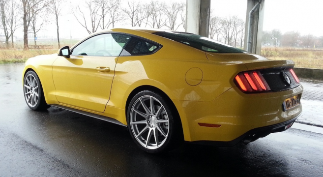 Mustang of the Moment Ericc's Triple Yellow 2016 EcoBoost