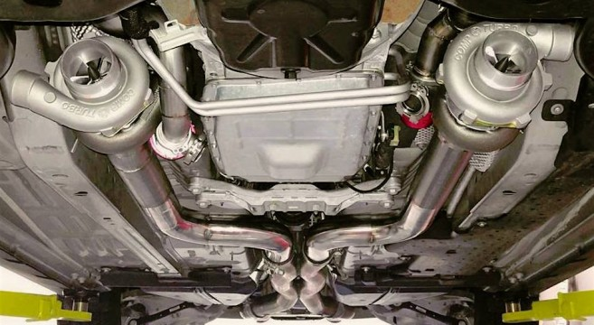 Boost Works Twin Turbo Systems Development 2015 Mustang
