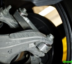 Boomba Racing Rear Vertical Links S550 Mustang