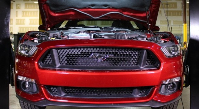 Mishimoto S550 Mustang GT Aluminum Radiator R&D