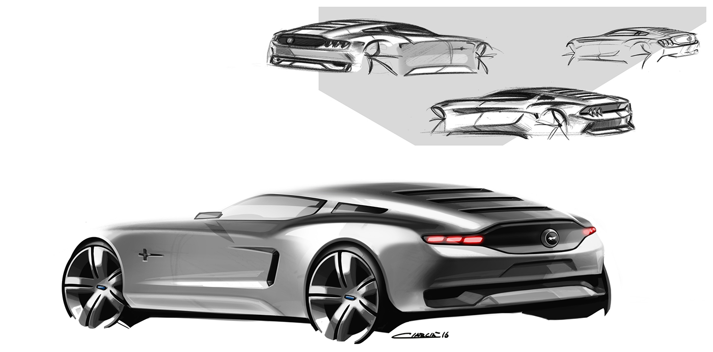 Mustang concept 2018