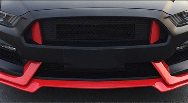 GT350 Style Front Bumper Conversion | 2015+ Mustang Forum ...