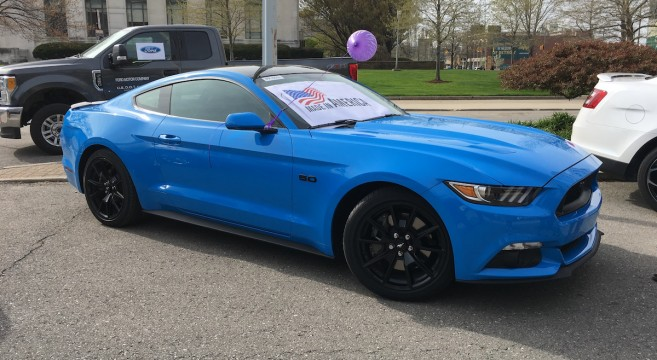 Grabber Blue 2017 Mustang Gt Spotted 2015 Mustang Forum News Blog