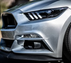 S550 Mustang Black Painted Headlights DIY Modification.jpg