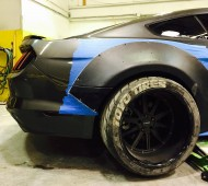 S550 Mustang Wide Body Kit Extreme Dimensions