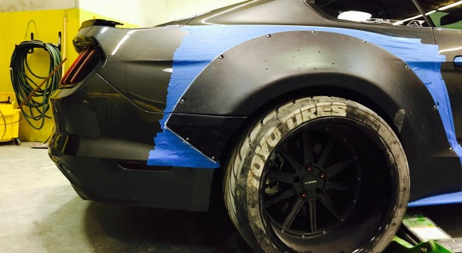 S550 Mustang Wide Body Kit Install 2015 Mustang Forum