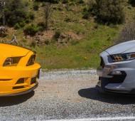 Shelby GT350 vs Boss 302