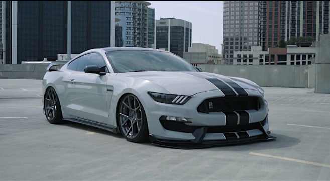Gt350 With Accuair E Level Suspension 2015 Mustang