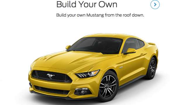 2017 Mustang Build and Price Configurator Live