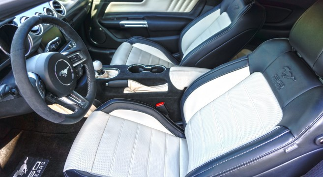 Ford Mustang Ecoboost >> Custom Interior by JPM Coachworks | 2015+ Mustang Forum ...