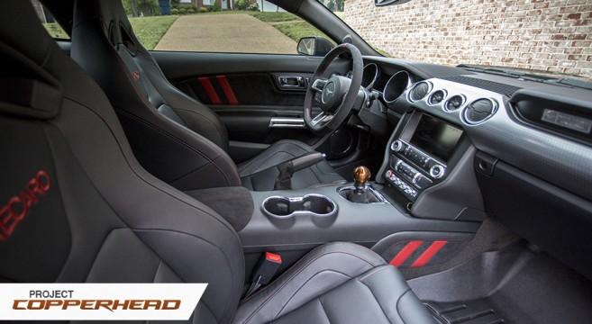 JPM Coachworks S550 Interior Mods | 2015+ Mustang Forum ...