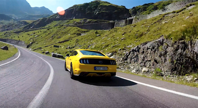S550 Mustang GT Europe's Greatest Driving Roads