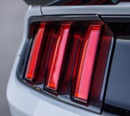 MMD Carbon Fiber Tail Light Bezel S550 Mustang