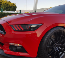 Custom S550 Mustang Headlights