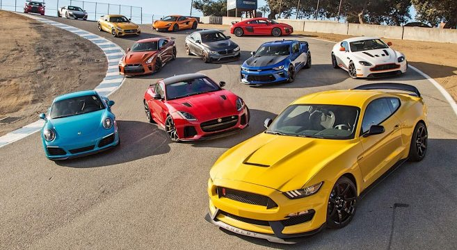 shelby gt350r takes runner up in motor trend best driver s car 2016 2015 mustang forum news. Black Bedroom Furniture Sets. Home Design Ideas