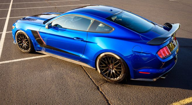 Motm Lightning Blue Roushcharged 2017 Mustang Gt 2015