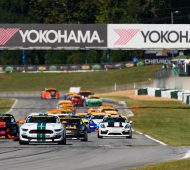Ford Shelby GT350R-C earned its first championship title in its first full year of competition, thanks to a dominant season from Multimatic Motorsports in the Continental Tire SportsCar Challenge this year. Drivers Billy Johnson and Scott Maxwell ran the table at the final race weekend, the Road Atlanta 150, earning their sixth win in their No. 15 white Ford Shelby GT350R-C after starting on pole for the sixth time. With that win, they clinched the manufacturers' championship for Ford as well.