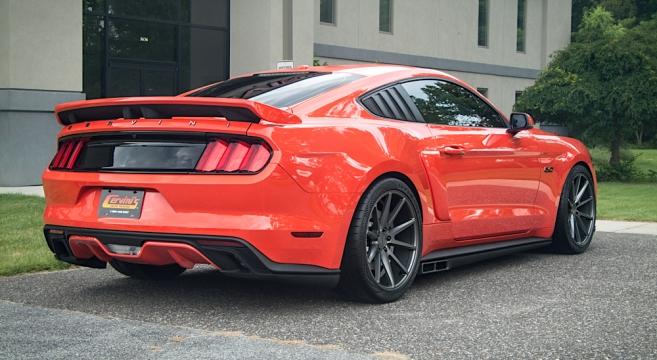 Cervini S 2015 2017 Mustang Side Exhaust Kit 2015