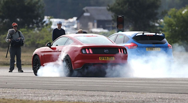 Grand Tour Mustang Gt And Focus Rs  Mustang Forum News Blog S Gt Gt Gt I V Mustangg The Ultimate Th Generation Mustang S