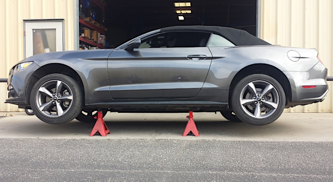 Mg Giveaway S Convertible Full Length Jacking Rails  Mustang Forum News Blog S Gt Gt Gt I V Mustangg The Ultimate Th