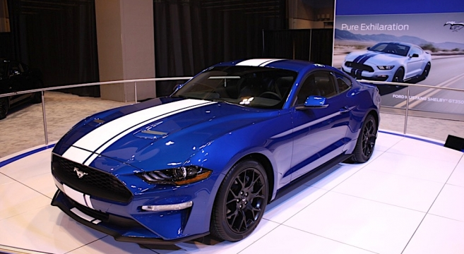2018 Mustang Gt And Ecoboost Begin Cross Country Tour